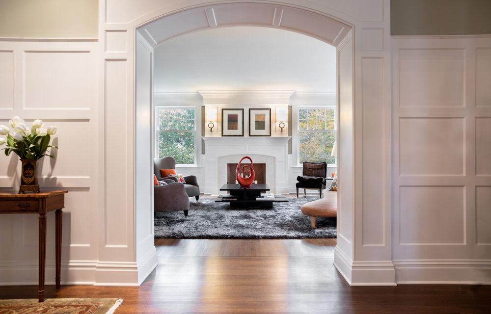 A Sense of Calm: Connect Rooms Visually