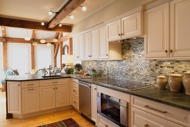 Coastal Post And Beam Kitchen Your Modern Cottage