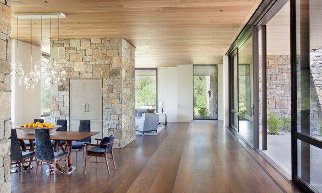 Modern Home Design with Timeless Materials – A Warm Home