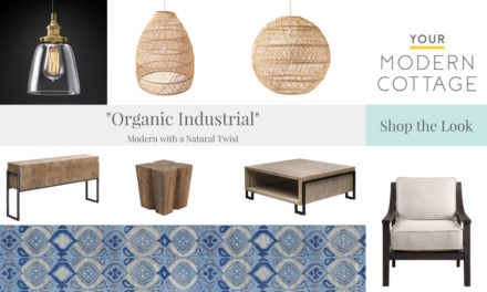 Shop the Look – Organic Modern, Clean and Simple with a Touch of Nature and Craft!