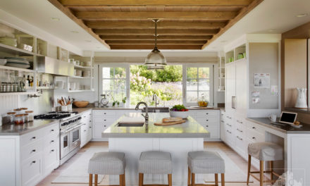 A Martha's Vineyard Classic Kitchen with Modern Function