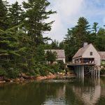 Simple Cottages on a Salt Pond
