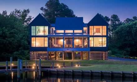 A Modern Waterfront Home Takes Cues from Past