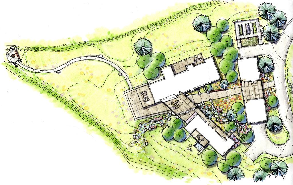 montana modern house plan
